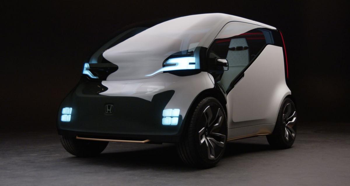 Honda NeuV Concept : la voiture qui veut s'attacher à vous