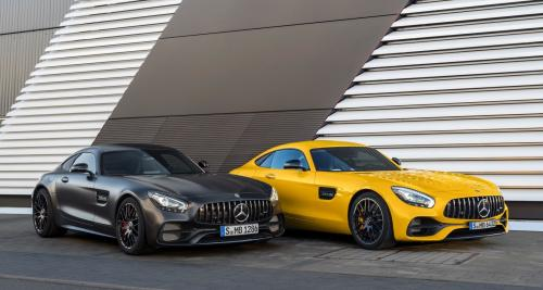 Mercedes-AMG GT : un restylage et une inédite GT C Coupé à Detroit