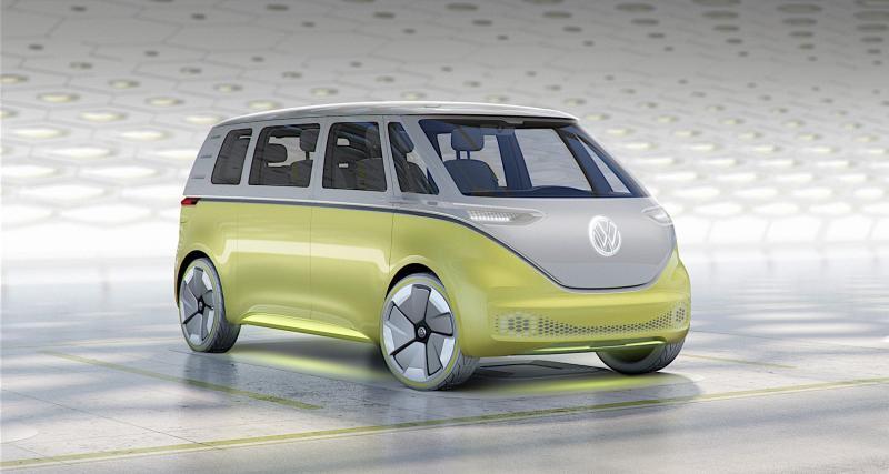 Volkswagen I.D. Buzz : le Combi du futur sera autonome et électrique