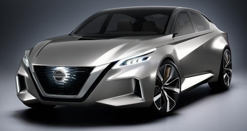 Nissan Vmotion 2.0 : la future grande berline de Nissan en filigrane
