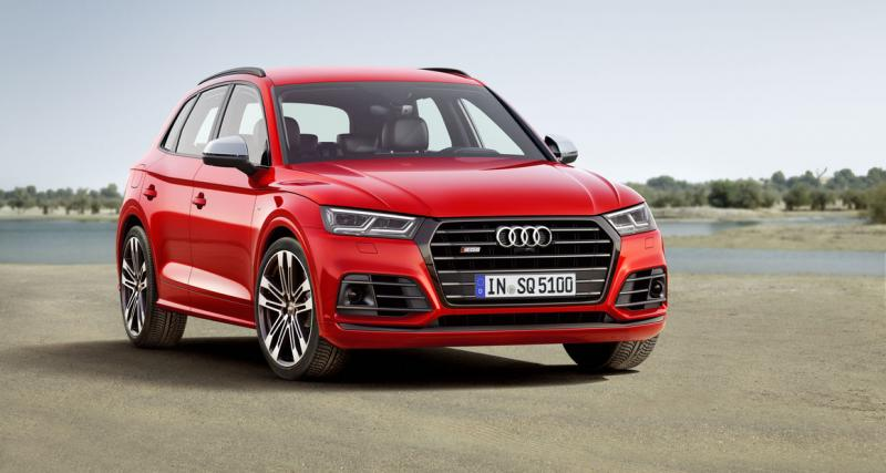 Nouvel Audi SQ5 TFSI : 354 ch en essence pour la France !