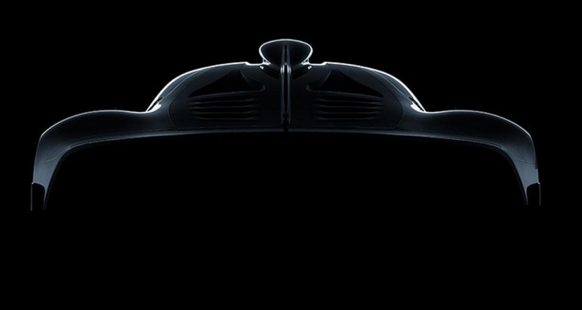 Première image pour l'hypercar Mercedes-AMG à moteur de Formule 1