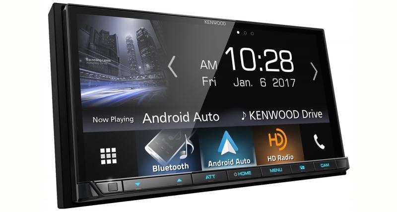 Un nouvel autoradio CarPlay et Android Auto chez Kenwood