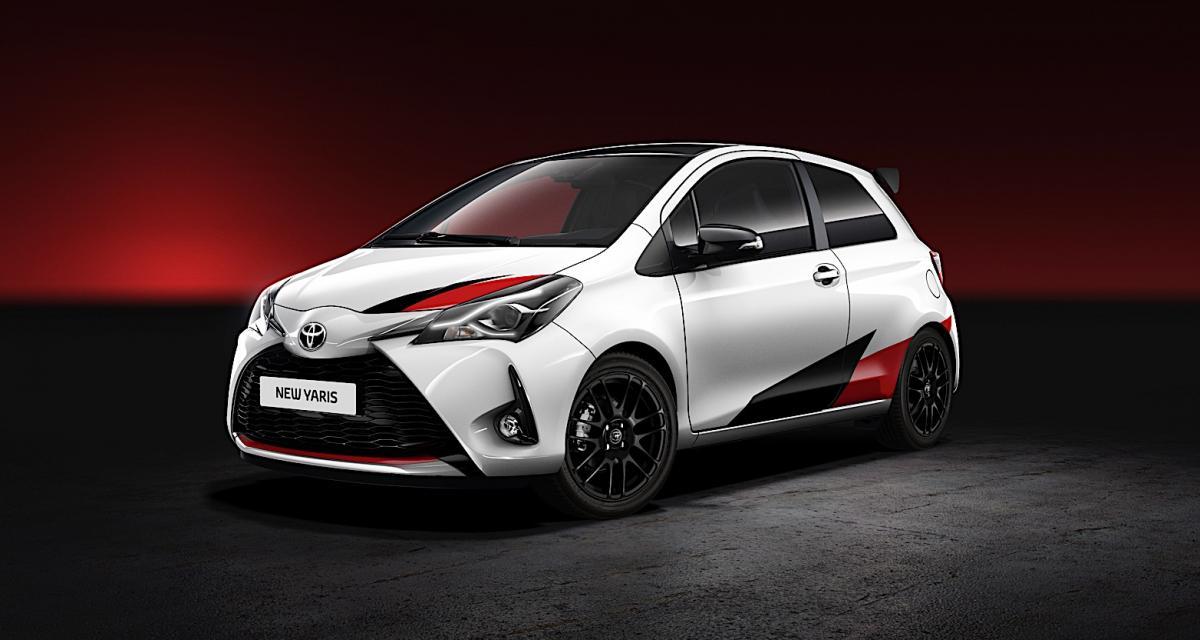 Toyota Yaris : une version de 210 ch pour fêter le WRC