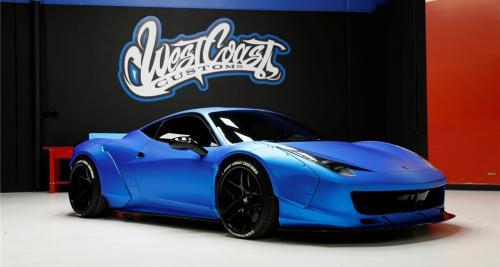 La Ferrari 458 Italia de Justin Bieber est à vendre