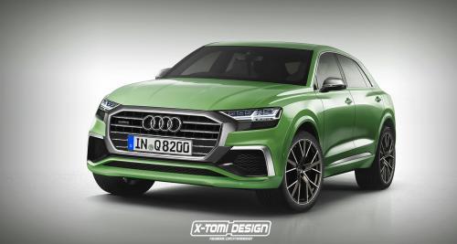 L'Audi Q8 de production déjà imaginé