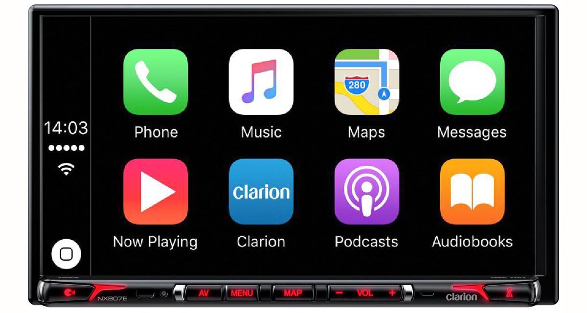 Un nouveau combiné multimédia avec CarPlay arrive chez Clarion