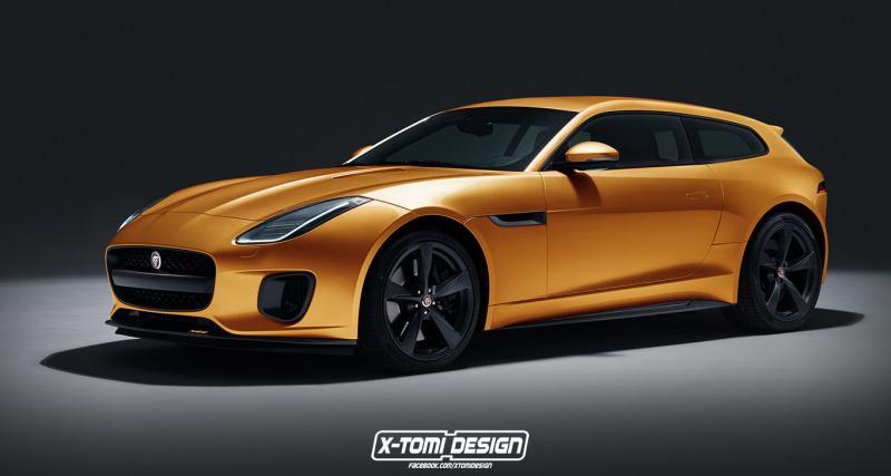 La Jaguar F-Type ferait un magnifique break de chasse
