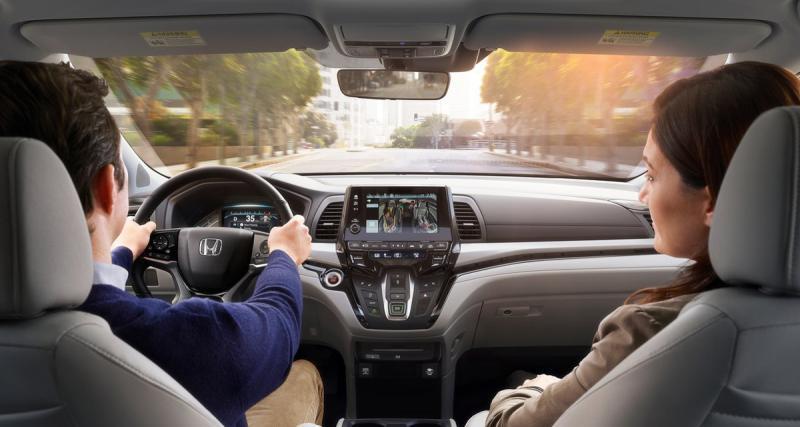 Le nouvel Honda Odyssey adopte un système multimédia très complet