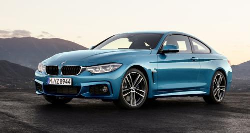 BMW Série 4 et M4 : un restylage pour le salon de Genève