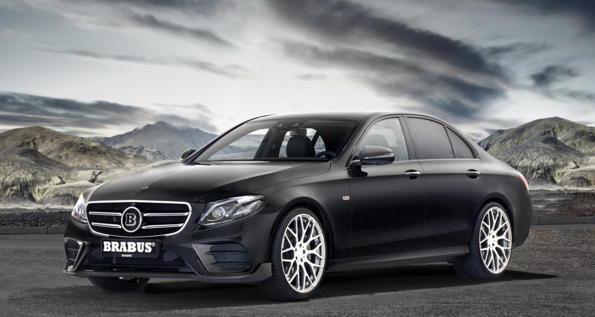 Brabus encanaille la nouvelle Mercedes Classe E