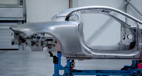 La nouvelle Alpine dévoile sa carrosserie en aluminium