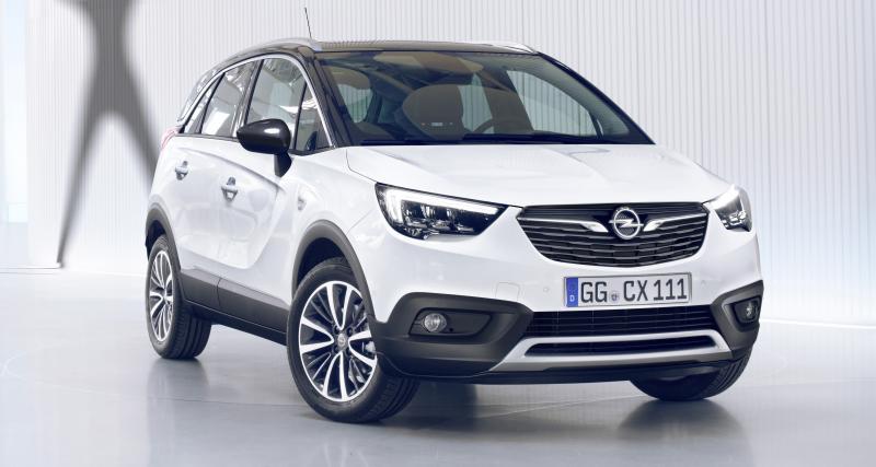 Premières photos et infos pour l'Opel Crossland X