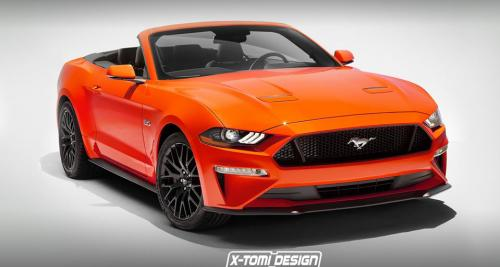 La Ford Mustang Cabriolet restylée avant l'heure