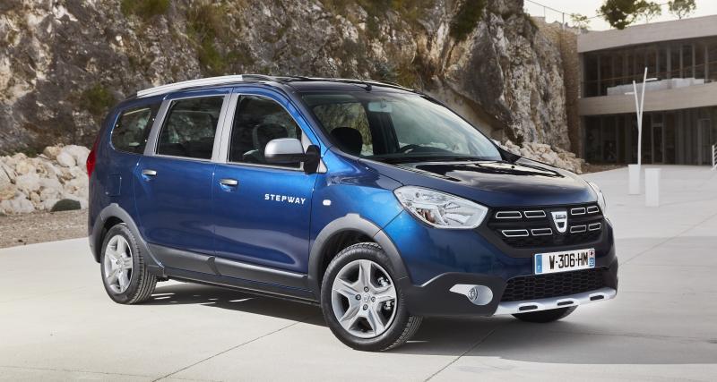 Dacia Lodgy et Dokker restylés : des tarifs légèrement augmentés