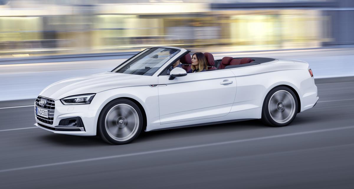 Nouvelle Audi A5 Cabriolet : une mise à prix sous les 50 000 euros