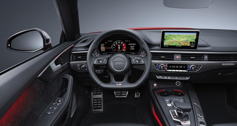 L'Audi Virtual Cockpit de série dès finition S Line