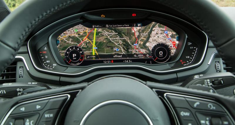 Encore une Audi à Virtual Cockpit