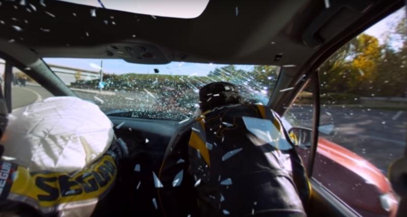 Un crash vu à 360° grâce à la réalité virtuelle