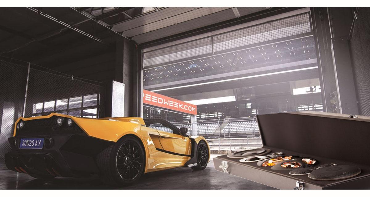 La super car Tushek&Spigel TS600 s'équipe d'un système hi-fi Morel