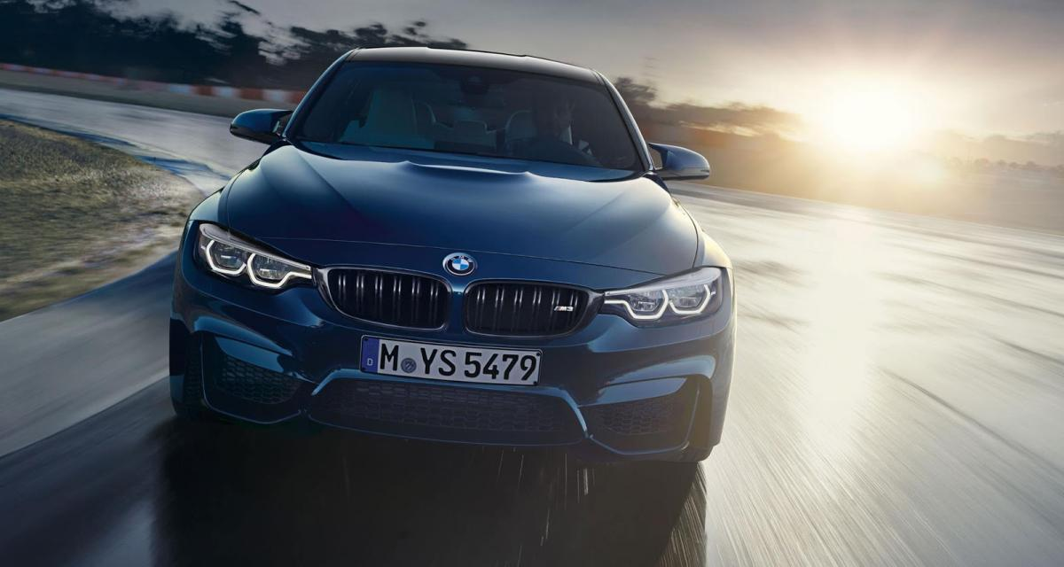 Micro-restylage pour la BMW M3