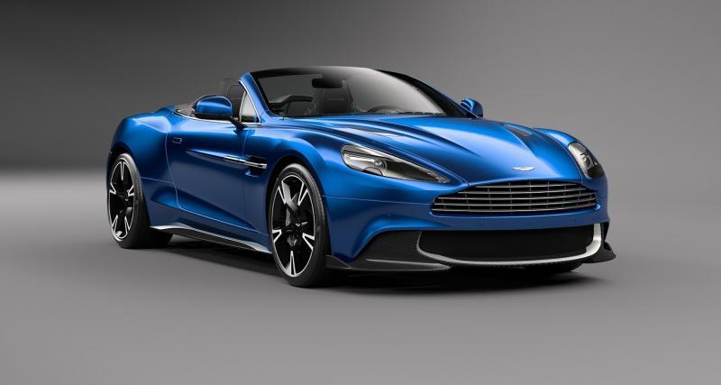 Aston Martin Vanquish S Volante : sans toit et sans limites !