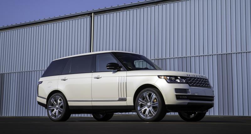 Le Range Rover est le véhicule le  volé en France selon Traqueur
