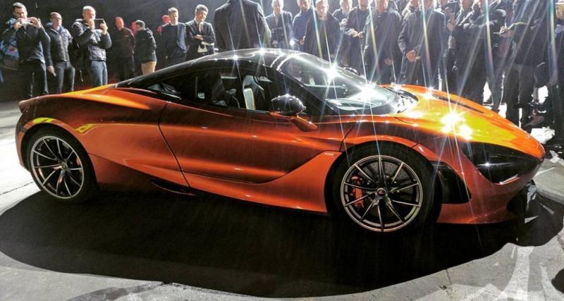 La nouvelle McLaren 720S en fuite