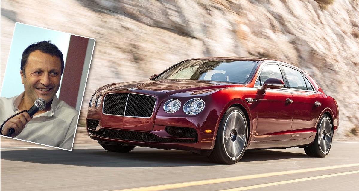 Des vitres trop fumées pour la Bentley Flying Spur d'Arthur