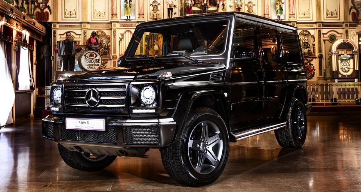 Mercedes Classe G Paul Bocuse : sept exemplaires pour célébrer la cuisine et la chasse