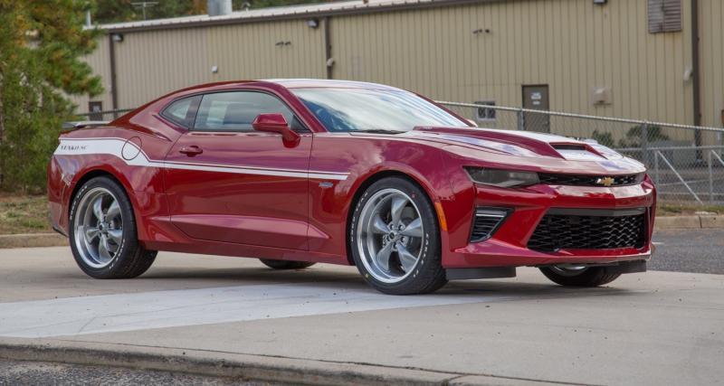 La Chevrolet Camaro SS grimpe à 800 ch grâce à Yenko