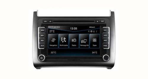 Un autoradio GPS « plug and play » pour la VW Polo 6C chez ESX