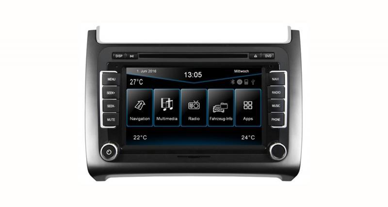 Un autoradio GPS « plug and play » pour la VW Polo 6C chez ESX