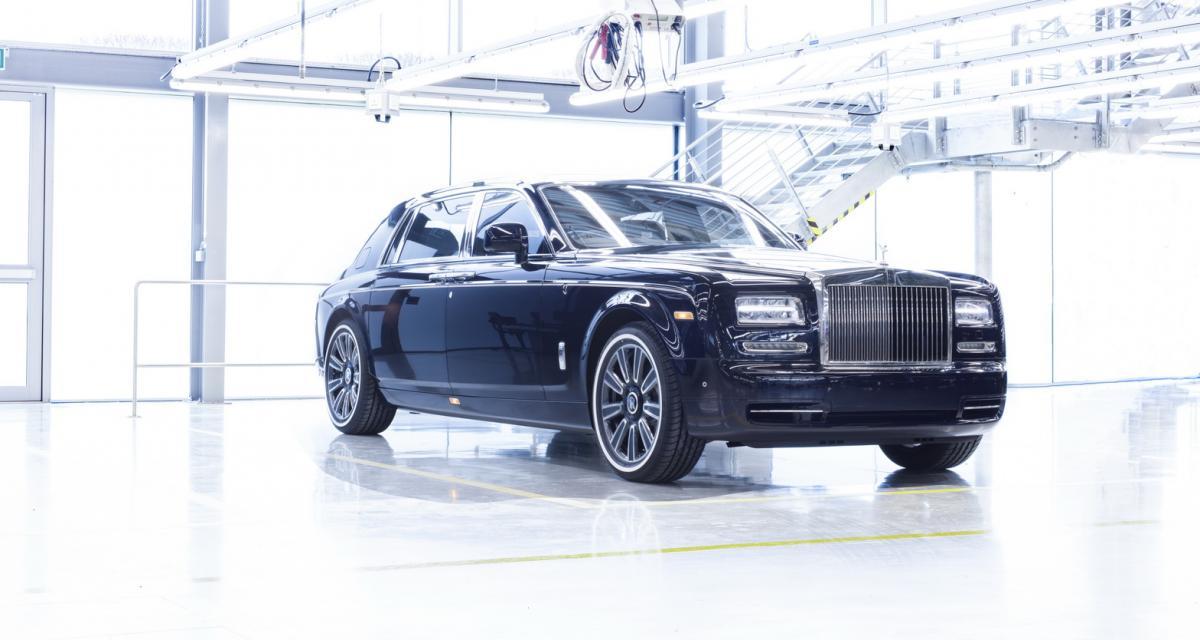 La Rolls-Royce Phantom Series II part à la retraite avec panache