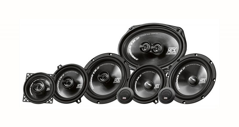 Une nouvelle gamme de haut-parleurs arrive chez MTX