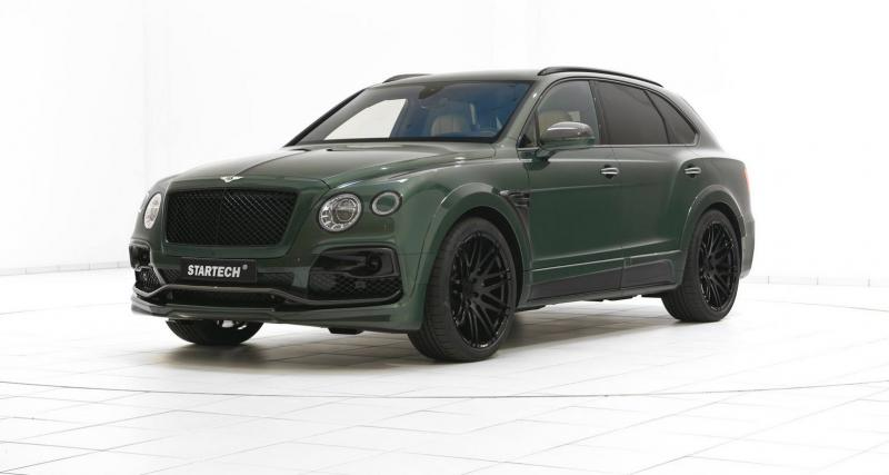 Startech transforme le Bentley Bentayga en char d'assault