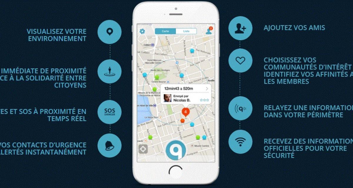 Qwidam : quand les automobilistes s'entraident via une application