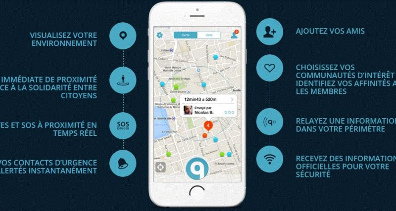 Qwidam : quand les automobilistes s'entraident via une application