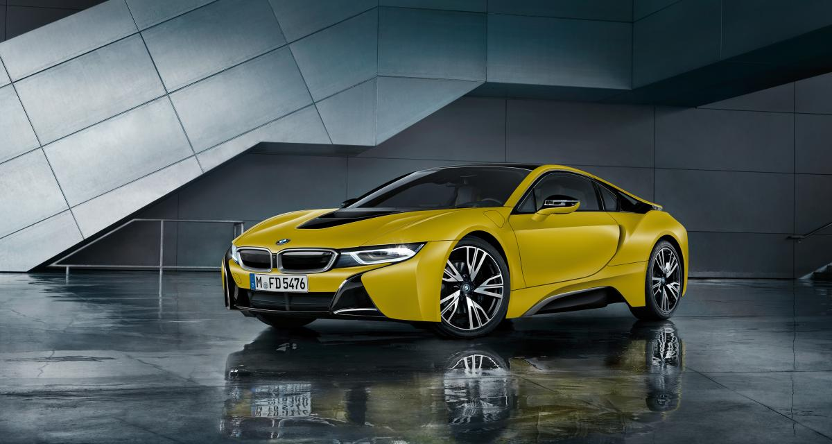 BMW i8 Frozen Edition : la folie du mat