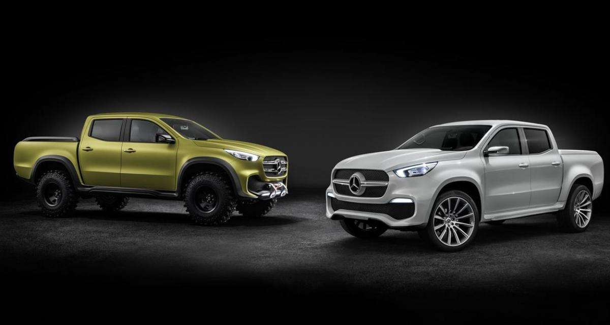 Mercedes Classe X : les réservations du cousin du Renault Alaskan sont ouvertes