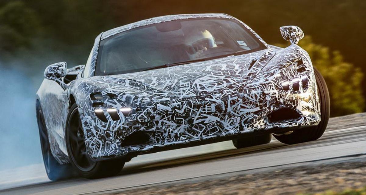 Première image officielle pour la McLaren 720S