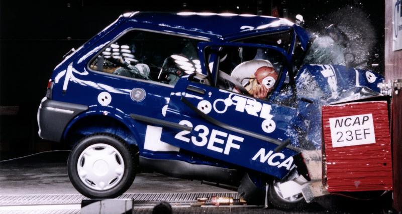 La protection effroyable des vieilles autos illustrée par Euro NCAP