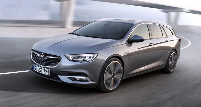 Opel Insignia Sports Tourer: le break à l'éclair se montre avant Genève
