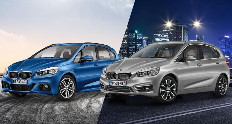 Le BMW Série 2 Active Tourer suréquipé à 380 euros par mois