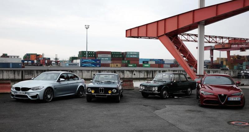 Comparatif BMW M3 Pack Compétition vs Alfa Romeo Giulia Quadrifoglio: le retour du trèfle!