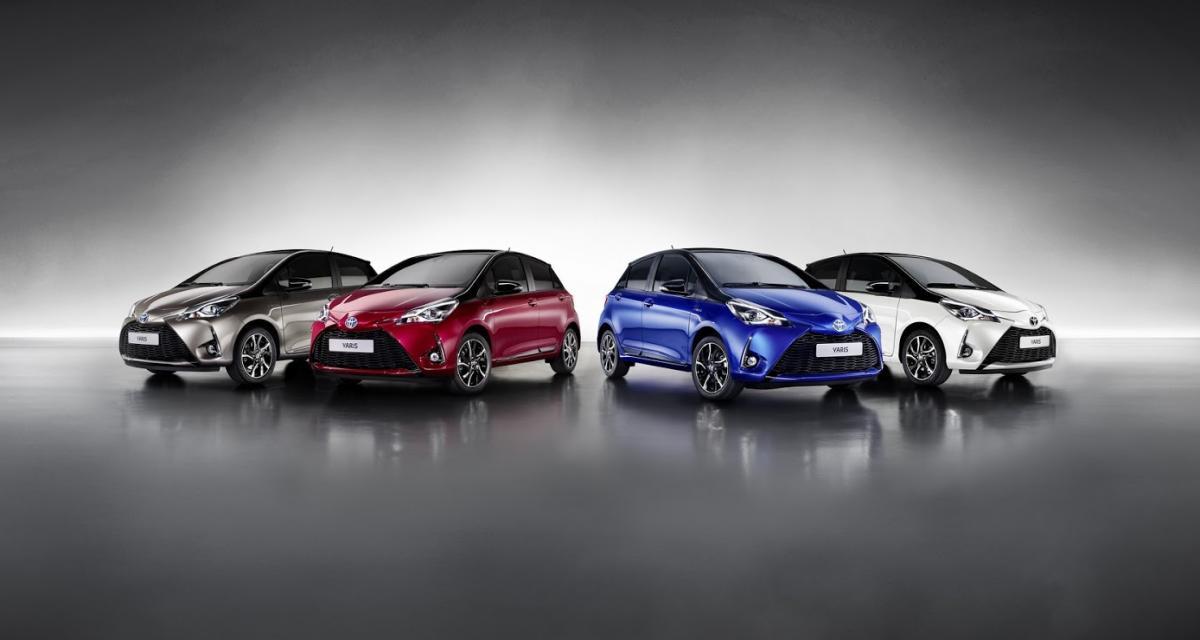 Toyota Yaris restylée: elle gonfle son moteur