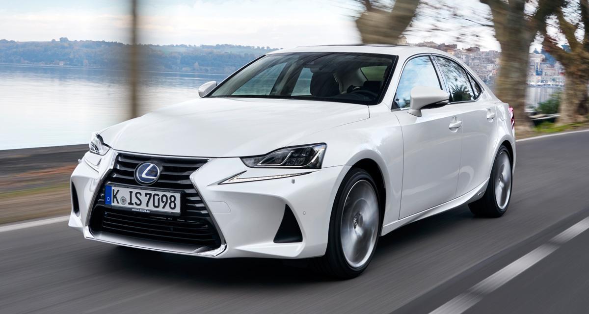 Essai Lexus IS300h: le premium, autrement