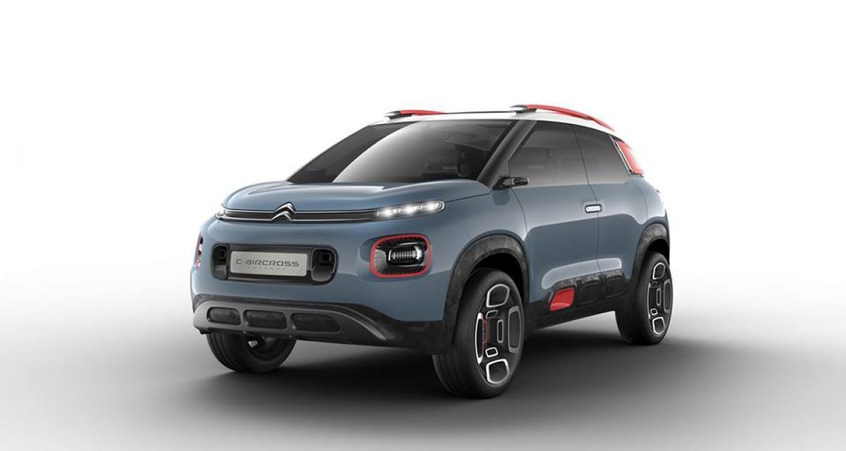 Citroën C-Cross Concept: la C3 se prend pour un SUV