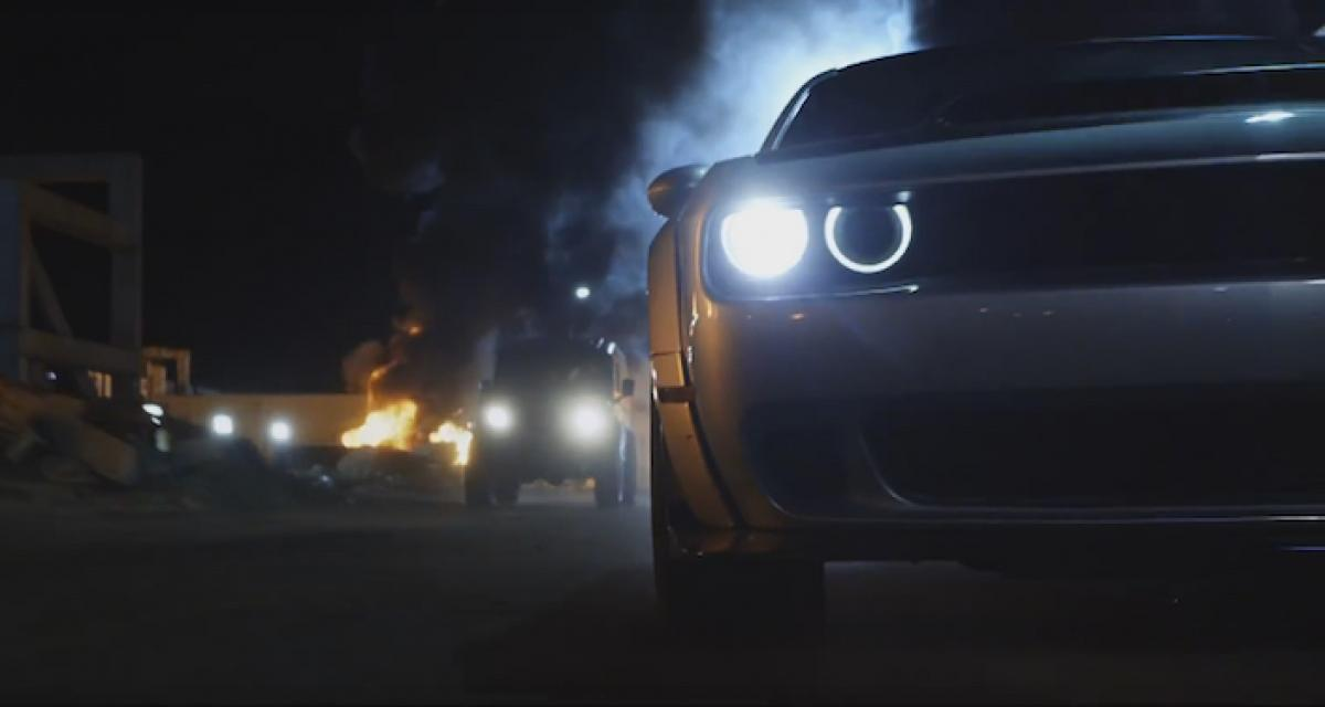 Fast & Furious 8: la Dodge Challenger SRT Demon fait des cabrioles!