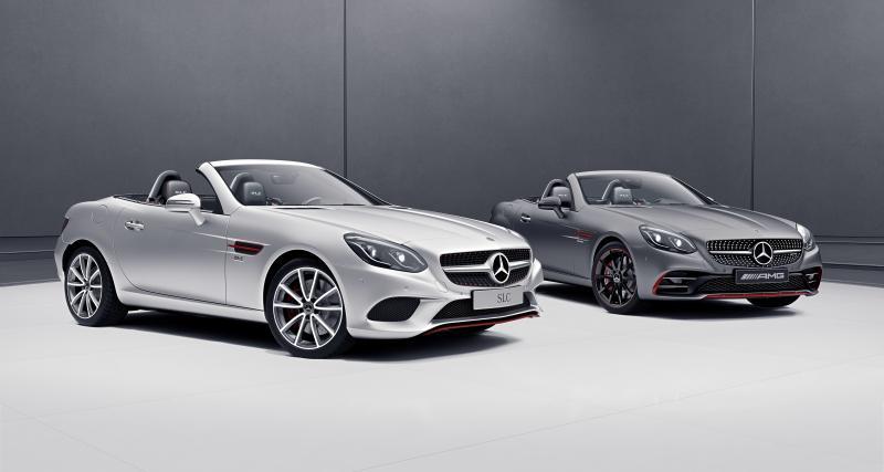 Mercedes SLC RedArt Edition : le roadster voit rouge